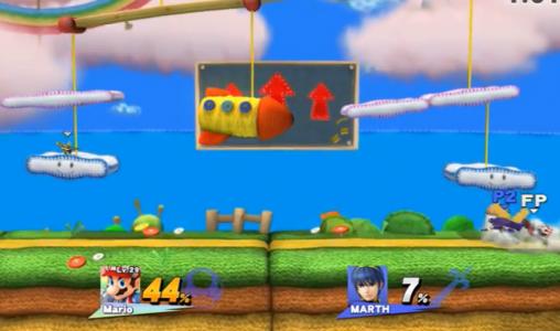 スマブラ for WiiUに収録のBGMが早くもリーク。ついでにステージも