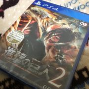 【PS4版】進撃の巨人2 購入!